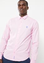 Pringle - Nail long sleeve style shirt - pink