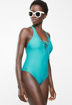 Lizzy - Cillian one piece - turquoise