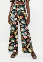 STYLE REPUBLIC - Wide leg pants - black