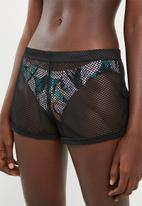 Sun Love - Sporty shorts - black