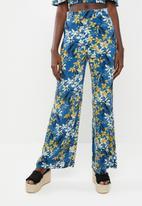 STYLE REPUBLIC - Wide leg pants - blue