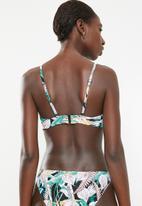Rip Curl - Surf break moulded bikini top - multi