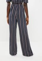 STYLE REPUBLIC - Wide leg pants - navy
