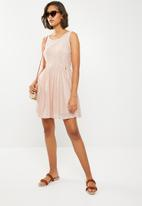 ONLY - Fairy lace dress - peach