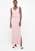 Vero Moda - Rebecca maxi dress - pink