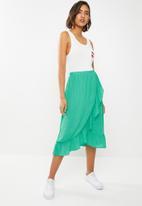 ONLY - Pippa skirt - green