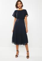 ONLY - Kate midi dress - navy