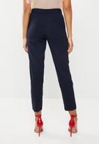 ONLY - Michelle belt pants - navy