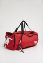 KAPPA - Duffle bag - red