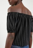 Superbalist - Off the shoulder top - black