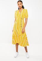 STYLE REPUBLIC - Frill detail dress - multi
