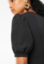 STYLE REPUBLIC - Frill detail dress - black