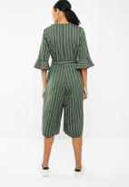 STYLE REPUBLIC - Cullot jumpsuit - green