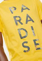 STYLE REPUBLIC - Paradise tee - yellow