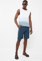 STYLE REPUBLIC - Casual vest - blue & white