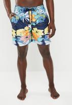STYLE REPUBLIC - Hibiscus swimshorts - multi