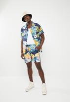 STYLE REPUBLIC - Hibiscus bowler shirt - multi