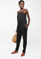 ONLY - Viva singlet lace jumpsuit - black