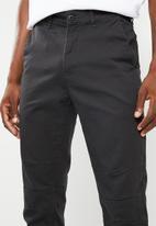 Superbalist - Slim utility pants - dark charcoal