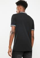 Superbalist - Pique tipped short sleeve slim polo 3 pack - multi