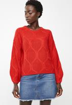 ONLY - Felina jersey - red
