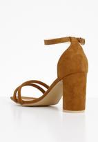 Superbalist - Ivy ankle strap heel - tan