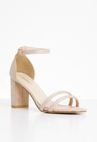 Superbalist - Ivy ankle strap heel - neutral