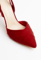 Superbalist - Alina slingback heel - red