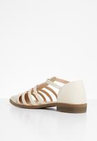 Superbalist - Daisy caged sandal - cream