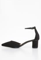 Superbalist - Talia pointed toe heel - black