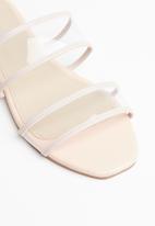 Superbalist - Lola perspex sandal - pale pink