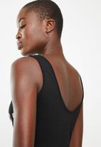 Superbalist - Graphic printed bodysuit - black