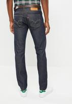 Levi's® - 511 Slim fit solstice selvedge warp jeans - blue