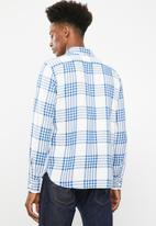 Levi's® - Classic worker gopher galaxy shirt - blue & white