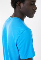 adidas - Classic linear tee - blue