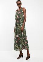 ONLY - Maya maxi dress - green
