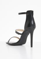 Superbalist - Strappy stiletto heel - black