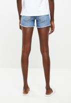 ONLY - Dylan pushup shorts - blue