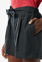 Superbalist - Short with tie - black