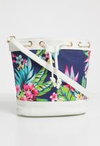POP CANDY - Floral bucket sling bag - multi-colour