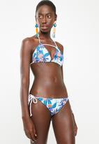 Lizzy - Tabitha bikini set - white, blue & orange