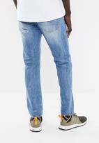 G-Star RAW - 3301 slim denim jeans - blue