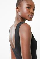 Superbalist - Bodysuit with low back - black