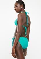 Sun Love - Side tie bikini bottoms - turquoise