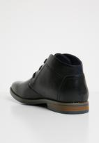 Gino Paoli - Derby lace up boots - black
