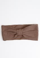 STYLE REPUBLIC - Knotted headband - brown
