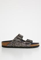 Birkenstock - Arizona metallic stones narrow - black