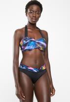 Jacqueline - Monaco V band bikini bottoms - black