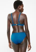 Jacqueline - Twist band bikini bottoms - blue