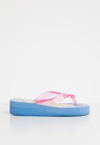 Character Fashion - Frozen wedge flops Multi-colour